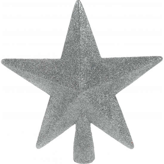 Zilveren onbreekbare ster piek Zilver