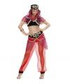 1001 nacht buikdanseres kleding 36 (S) Rood