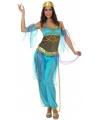 1001 nacht dames kostuum blauw 38 (M) Blauw