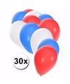 Engelse  ballonnen pakket 30x