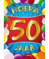 Mega poster 50 jaar versiering