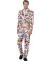 60s hippie heren kostuums 52-54 (L) Multi