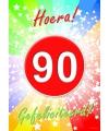 90 jaar verjaardag poster