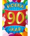 Mega poster 90 jaar