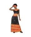 Afrikaans kostuum/set voor dames M/L (38-40) Multi