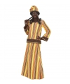 Afrikaanse dame outfit L Multi