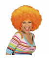 Holland pruik afro oranje