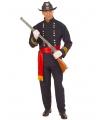 Amerikaanse generaal kostuum 52 (L) Blauw
