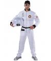 Astronaut pak voor heren 64-66 (2XL) Wit