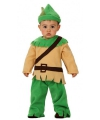 Baby verkleedkleding Robin Hood 0-6 maanden Multi