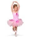 Ballerina jurkje voor meisjes 3-5 jaar (S) Roze