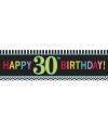 30 jaar geworden banner 165 cm