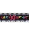 40 jaar geworden banner 165 cm