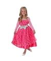 Barbie jurkje roze voor kinderen 5-8 jaar (110-128 cm) Roze