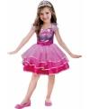 Barbie kostuum voor meisjes 2-3 jaar (92-98) Roze