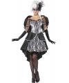 Barok engel kostuum voor dames 40-42 (M) Zwart