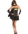 Batman kostuum voor dames S Zwart