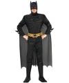 Batman kostuum voor heren 52-54 (XL) Zwart