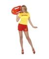 Baywatch verkleedkleding voor dames 44-46 (L) Multi