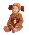 Beren kostuums baby's tot 6mnd One size Bruin