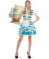 Bierfeest jurkje met Beieren print M/L Multi