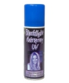 Blacklight haar spray