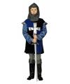 Blauw ridder pak voor kinderen
