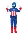 Blauwe superheld carnavalskostuum voor jongens 110-122 (4-6 jaar) Multi