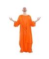Boeddha oranje gewaad voor heren 48-50 (M) Oranje