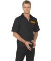 Boeven shirt voor heren 52-54 (L) Zwart