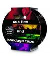 Bondage tape zwart 20 meter