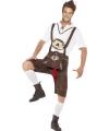 Braadworst kostuum bierfeest voor heren 48-50 (M) Multi