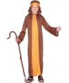 Bruin herders kostuum voor kids 104-116 (3-5 jaar) Bruin