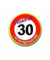 30e verjaardag button