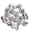 Kadolint en strikjes zilver 16-delig