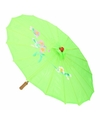 Decoratie parasol China groen