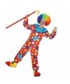 Clown Dots verkleedkleding voor jongens 116 (5-6 jaar) Multi