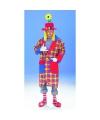 Clown jas geruit 50-52 (M/L) Multi