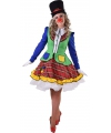 Clown Pipo jurkjes voor dames 36 (S) Multi