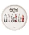 Rond Coca Cola dienblad wit