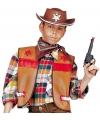Cowboy gilet voor kinderen bruin 158 (11-13 jaar) Bruin