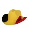 Belgische cowboy hoeden voor volwassenen