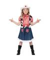 Cowgirl kostuum meisjes 115-128 (4-6 jaar) Multi