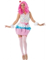 Cupcake outfit voor dames M Multi