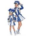 Dansmarieke outfit blauw voor meisjes 116 Blauw