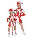 Dansmarieke outfit rood voor meisjes 152 Rood