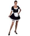 Sexy kamermeisje jurk volwassenen