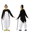 Dieren pinguin verkleedpak voor volwassenen XL Multi