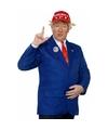 Donald trump verkleedset 4-delig 52-54 (L) Multi
