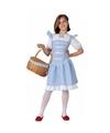 Dorothy Wizard of Oz verkleedjurk voor meisjes 128 (7-9 jaar) Blauw